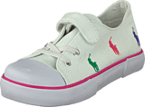 Ralph Lauren Junior - Bal Harbour Cap Toe Repeat White