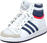 adidas Originals - Top Ten Hi C Ftwr White/Dark Blue/Power Red