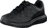 adidas Sport Performance - Duramo Trainer Lea Core Black/Iron Met.