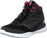 Reebok - Cardio Workout Mid Rs Black/Grey/Neon Cherry/White