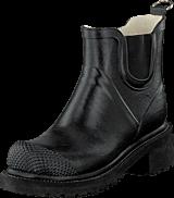 Ilse Jacobsen - Short Rubberboot High Heel Black