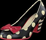 Lola Ramona - Elsie Black/Cream dots