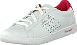 Le Coq Sportif - Arthur Ashe Int Sport Jaquard Optical White/Vintage Red