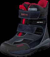 Geox - J Orizont B. Abx A - Text+Sue Navy/Red