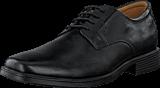 Clarks - Tilden Plain Black Leather