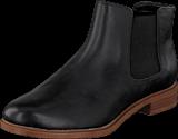 Clarks - Taylor Shine Black Leather