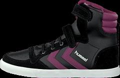 Hummel - Hummel Sl Stadil Elastic Jr Hi Black/Purple Potion