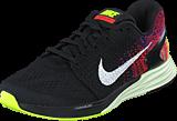 Nike - Nike Lunarglide 7 Black/Sail-Bright Crimson-Volt
