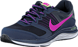 Nike - Wmns Nike Dual Fusion X Mid Nvy/Fchs Flsh-Drk Obsdn-Gh