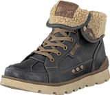 Mustang - 4051603 Men's Boot (fur) Graphite