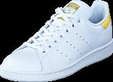 adidas Originals - Stan Smith J Ftwr White/Ftwr White/Gold Met