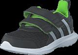 adidas Sport Performance - Hyperfast 2.0 Cf I Core Black/Silver/Solar Green