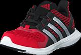 adidas Sport Performance - Hyperfast 2.0 K Core Black/Silver/Power Red