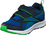 Reebok - Reebok Almotio Rs 2V Collegiate Navy/Green/Blue