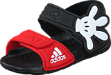 adidas Sport Performance - Disney Akwah 9 I Core Black/Vivid Red/White