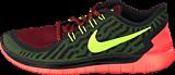 Nike - Free 5.0 Black Volt Gym Red
