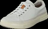 Clarks - Ballof Lace White Leather