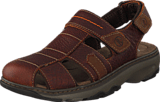 Clarks - Raffe Bay Brown Leather