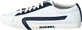 Diesel - Bikkren Canvas White/ Blue Night
