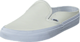 Vans - Classic Slip-On Mule (Leather) White/True White