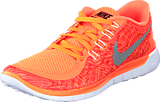 Nike - Wmns Nike Free 5.0 Print Hyper Orange/Black-Sail-White