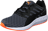 Puma - Flare Wn's Black-White-Fluo Peach
