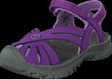 Keen - Rose Sandal-Kids Purple Heart/Gargoyle