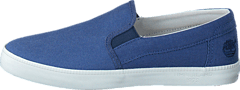 Timberland - Newport Bay Canvas Plain Blue/Vintage Indigo