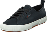 Superga - 2750-FGLU Leather Blue Navy