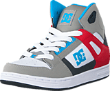 DC Shoes - Dc Kids Rebound Shoe Grey/Grey/Red