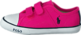 Ralph Lauren Junior - Daymond Ez Regatta Pink Canvas - Navy