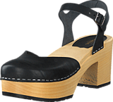 Swedish Hasbeens - Krillan Black/Nature Sole
