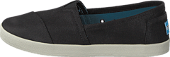 Toms - Women's Avalon Slipon Coated Canvas Black