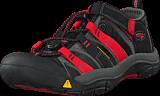 Keen - Newport H2-Jr Black/Racing Red Multi