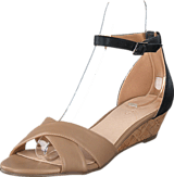 Bianco - Low Wedge Sandal Beige