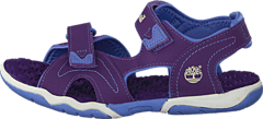 Timberland - Adventure Seeker 2 Strap Jr Purple/Periwinkle