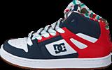 DC Shoes - Rebound SE Black/ Red Print