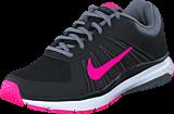 Nike - Wmns Dart 12 Black/Pnk Blast-Cl Gry-Drk Gry