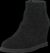 Angulus - Wedge boot with zipper Black/ black