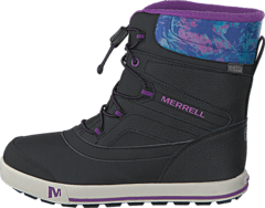 Merrell - Snow Bank 2.0 WTPF Black/Print/Berry