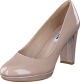 Clarks - Kendra Sienna Nude Patent