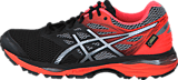 Asics - Gel-Cumulus 18 G-Tx Black / Silver / Flash Coral