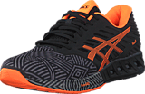 Asics - Fuzex Aluminum / Hot Orange / Black