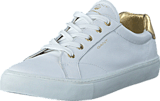 Gant - 14531632 Alice Sneaker G292 Bright Wht.+Gold