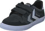 Hummel - Stadil Jr Leather Low Black/White/Grey