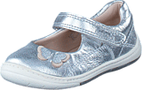 Clarks - Softly Wow Fst Silver Leather