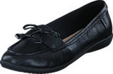 Clarks - Feya Bloom Black Leather