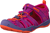 Keen - Moxie Sandal Children Purple Wine/Nasturtium