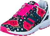 adidas Originals - Zx Flux J Shock Pink/ Ftwr White