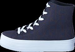Calvin Klein Jeans - Zabrina CK Logo Jacquard Blue/ Blue